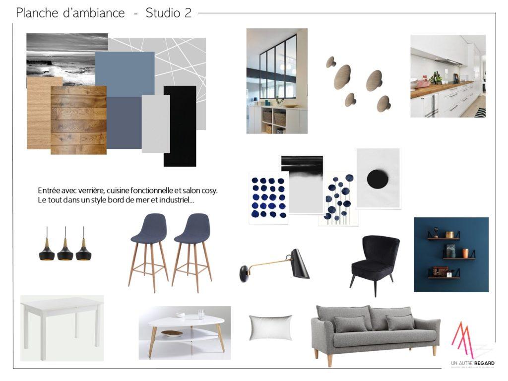 Planche d'ambiance studio 2